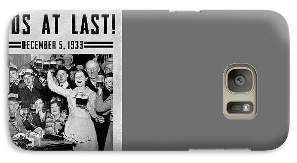 Prohibition Ends Celebrate Galaxy S7 Case