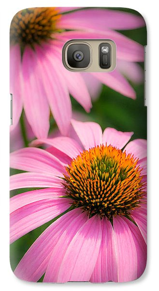Galaxy Case featuring the photograph Purple Coneflower by Jim Hughes