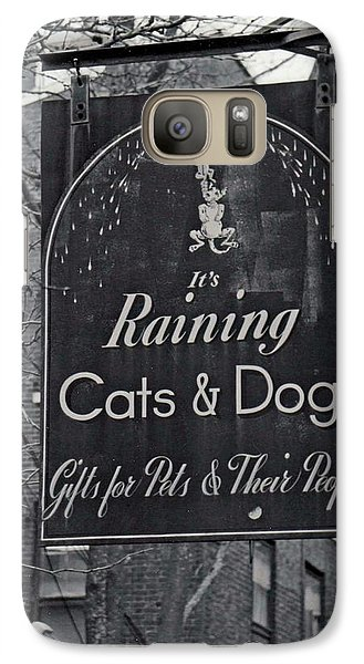 Galaxy Case featuring the photograph Raining Cats And Dogs by Juls Adams