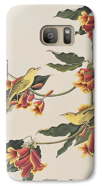 Rathbone Warbler Galaxy S7 Case by John James Audubon