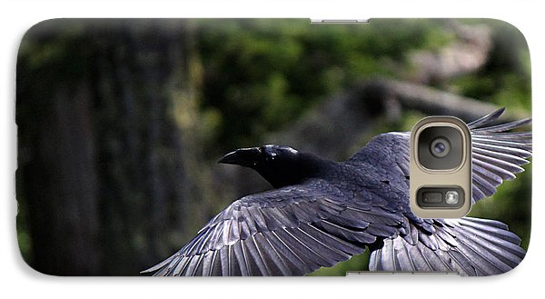 Raven Flight Galaxy S7 Case