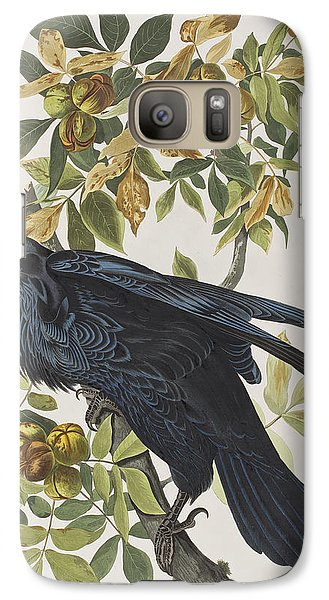 Raven Galaxy S7 Case by John James Audubon