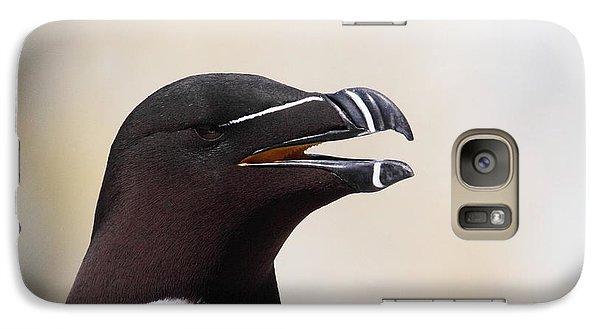 Razorbill Portrait Galaxy S7 Case by Bruce J Robinson
