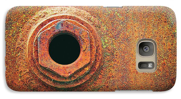 Galaxy Case featuring the photograph Receptacle by Tom Druin
