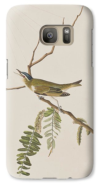 Red Eyed Vireo Galaxy S7 Case