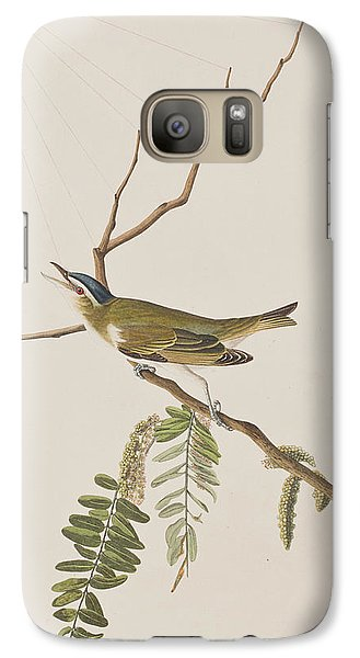 Red Eyed Vireo Galaxy S7 Case by John James Audubon