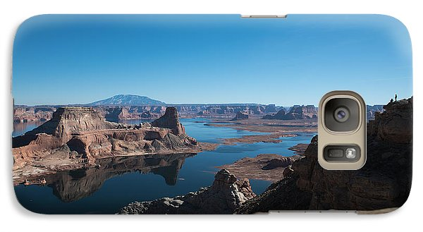 Red Rocks Drifting In Lake Powell Galaxy S7 Case