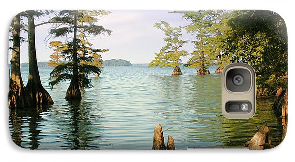 Galaxy Case featuring the photograph Reelfoot Lake by Bonnie Willis