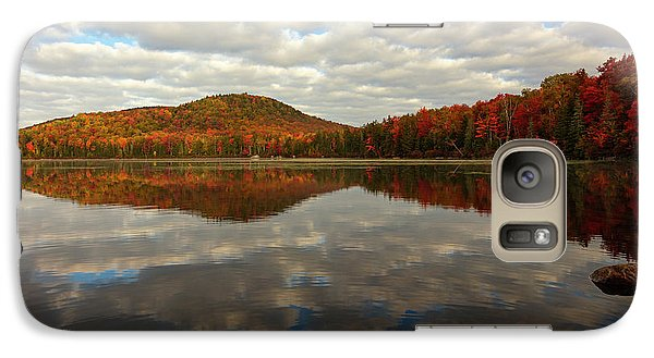 Galaxy Case featuring the photograph Autumn Reflections by Mike Lang