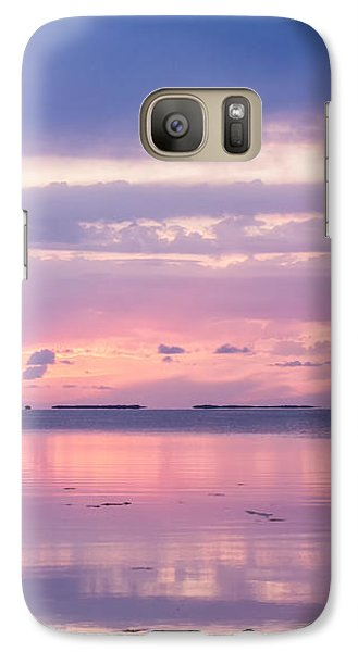 Reflections At Sunset In Key Largo Galaxy S7 Case