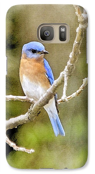 Galaxy Case featuring the photograph Rhapsody In Blue by Betty LaRue