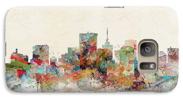 Galaxy Case featuring the painting Richmond Virginia Skyline by Bri B