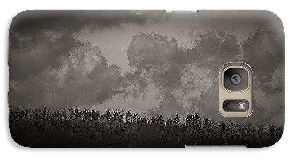 Galaxy Case featuring the photograph Ridgeline by Tim Nichols
