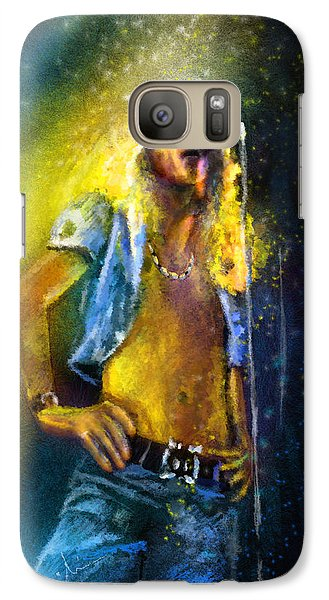Robert Plant 01 Galaxy S7 Case by Miki De Goodaboom