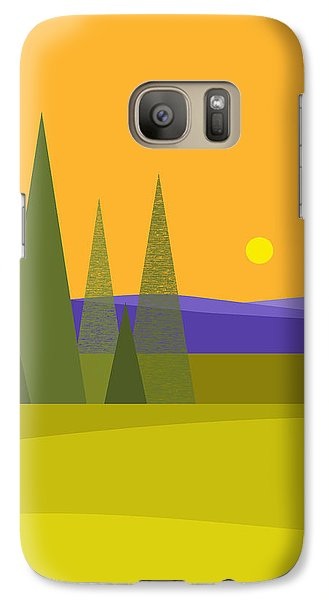 Galaxy Case featuring the digital art Rolling Hills by Val Arie