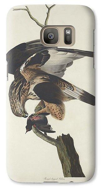 Rough Legged Falcon Galaxy S7 Case