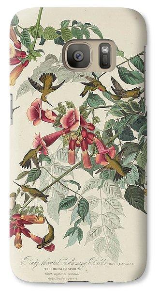 Ruby-throated Hummingbird Galaxy S7 Case by Rob Dreyer