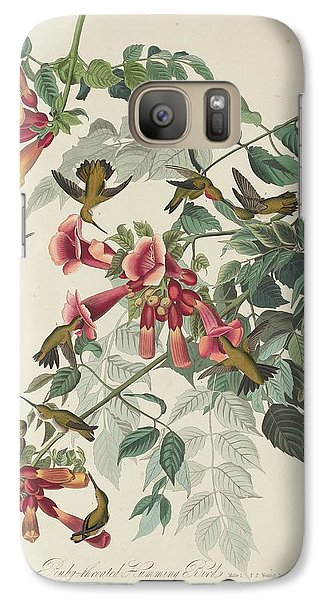 Ruby-throated Hummingbird Galaxy S7 Case by Anton Oreshkin