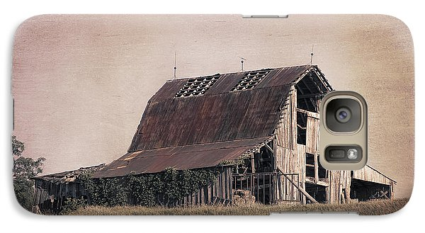 Pasture Galaxy S7 Case - Rustic Barn by Tom Mc Nemar