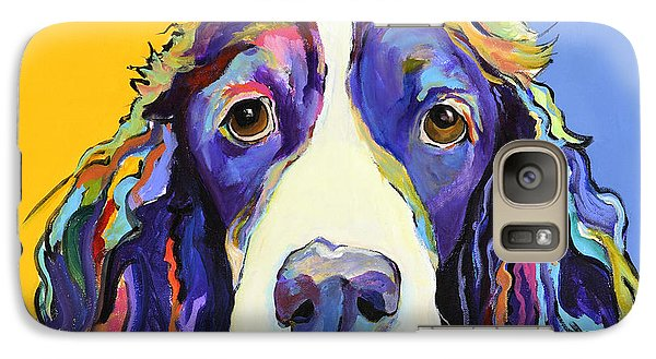 Dog Galaxy S7 Case - Sadie by Pat Saunders-White