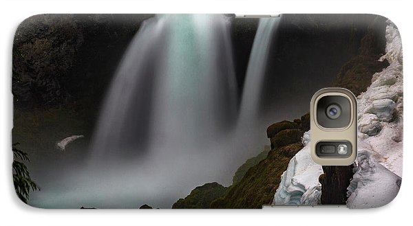 Galaxy Case featuring the photograph Sahalie Falls by Cat Connor