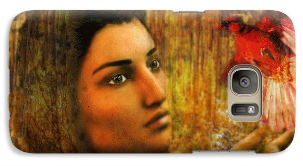 Galaxy Case featuring the painting Saint Kateri by Suzanne Silvir