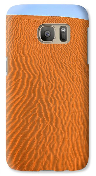 Galaxy Case featuring the photograph Sand Pattern by Alexey Stiop