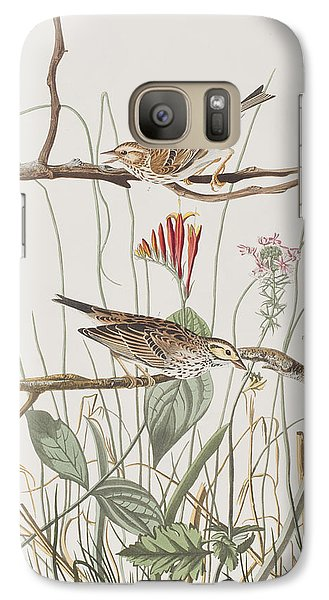 Savannah Finch Galaxy S7 Case by John James Audubon