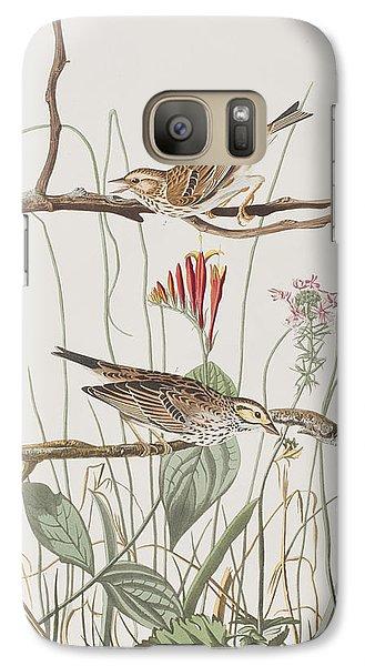 Savannah Finch Galaxy S7 Case by John James Audubon
