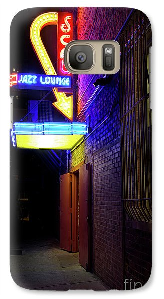 Galaxy Case featuring the photograph Scat Jazz Lounge 1 by Elena Nosyreva
