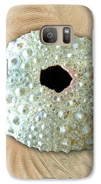 Galaxy Case featuring the photograph Sea Urchin by Anastasiya Malakhova