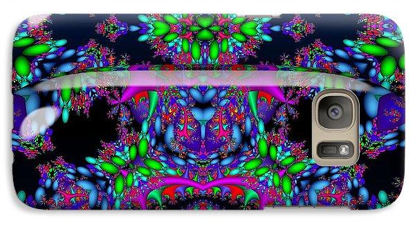 Galaxy Case featuring the digital art Secret Garden by Robert Orinski