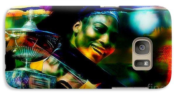 Serena Williams Galaxy S7 Case - Serena Williams by Marvin Blaine