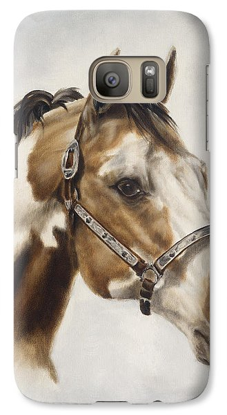 Galaxy Case featuring the painting Show Off by Cathy Cleveland