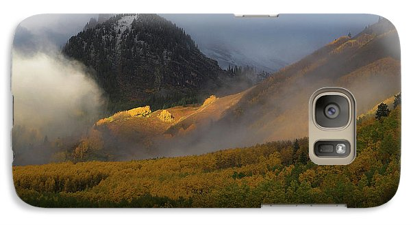 Galaxy Case featuring the photograph Siever's Mountain by Steve Stuller