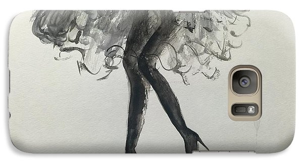 Galaxy Case featuring the painting Signature by Trilby Cole