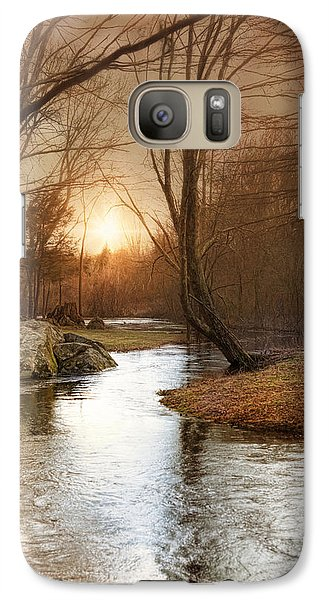 Galaxy Case featuring the photograph Silence Is Golden by Robin-Lee Vieira
