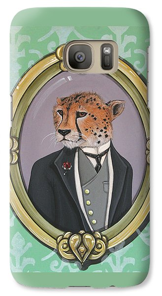 Galaxy Case featuring the painting Sir Pettingwise IIi by Jude Labuszewski