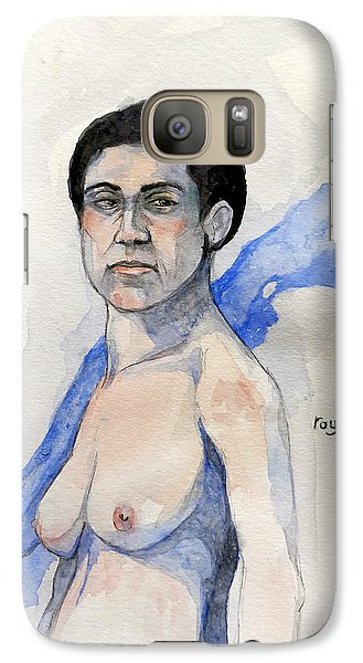 Galaxy Case featuring the painting Sketch For Gabrielle by Ray Agius