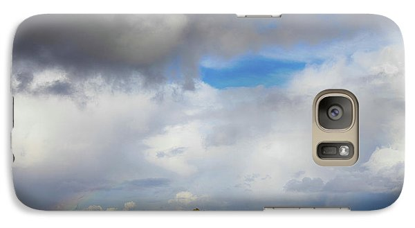 Galaxy Case featuring the photograph Skyward by Laurie Search