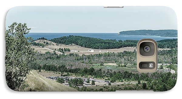 Galaxy Case featuring the photograph Sleeping Bear Dunes National Lakeshore by Alexey Stiop