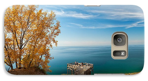 Galaxy Case featuring the photograph Sleeping Bear Overlook by Larry Carr