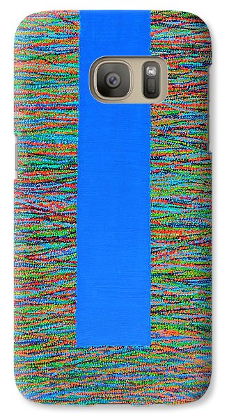 Galaxy Case featuring the painting Small Door by Kyung Hee Hogg