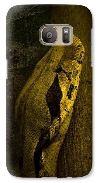 Snake Galaxy S7 Case by Svetlana Sewell
