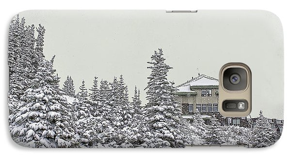 Galaxy Case featuring the photograph Snow In July by Teresa Zieba