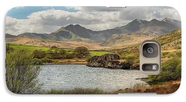 Galaxy Case featuring the photograph Snowdon Horseshoe by Adrian Evans