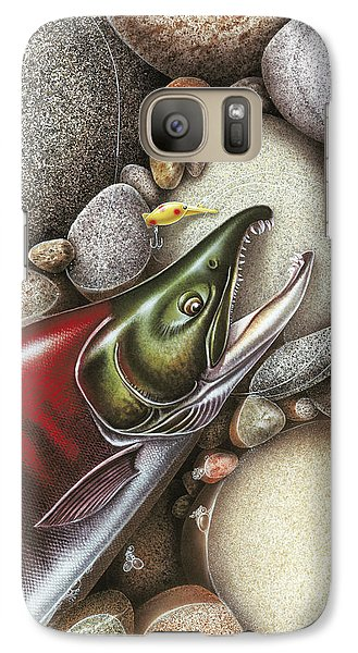Salmon Galaxy S7 Case - Sockeye Salmon by JQ Licensing