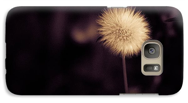 Galaxy Case featuring the photograph Tuft by Lora Lee Chapman