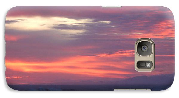 Galaxy Case featuring the photograph Soft Sunset by Michelle Wiarda