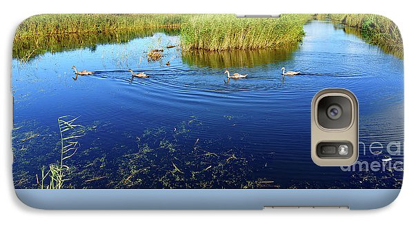 Galaxy Case featuring the photograph Somerset Levels by Colin Rayner